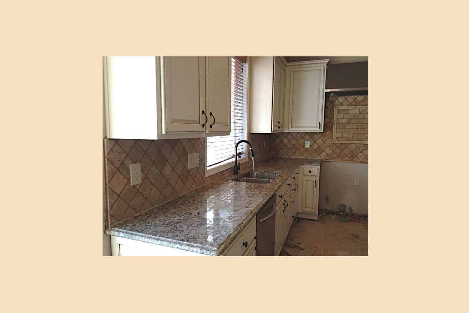 Countertop Process Steps 3