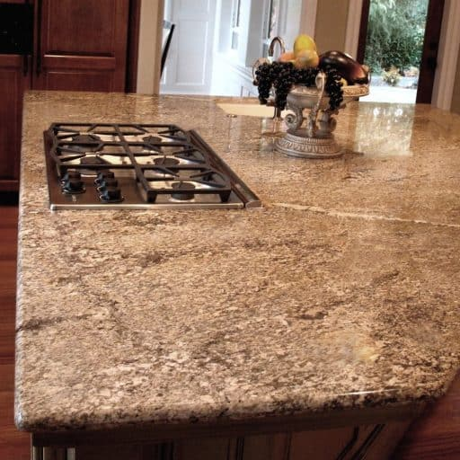Giallo Crystal Granite Countertop